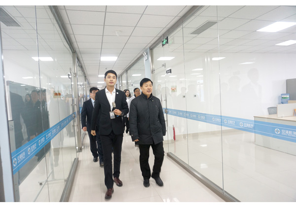 Li chengshi, secretary of the party and industry committee and deputy director of the management committee of tai 'an hi-tech industrial development zone